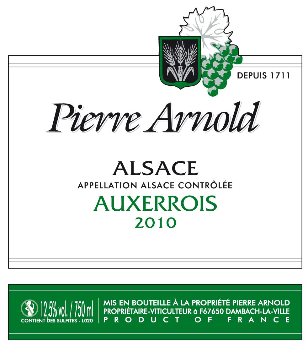 Auxerrois - Vins Pierre Arnold