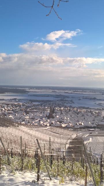 Dambach sous la neige.
